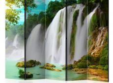 Paraván - Detian - waterfall (China) II [Room Dividers]